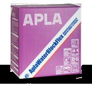 AplaWaterBlockFlex hidroizolaţie flexibilă bicomponentă pe bază de ciment şi răşină în dispersie ( latex)
