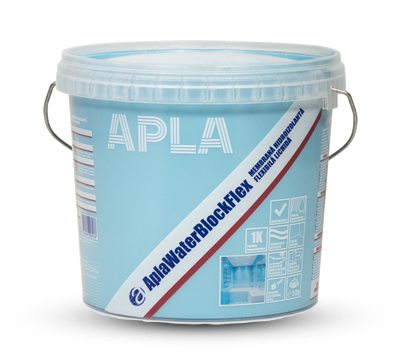 AplaWaterBlockFlex 1K – Membrană hidroizolantă flexibilă lichidă